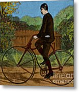 The Rover Bicycle Metal Print by Science Source
