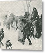 The Underground Railroad Metal Print by Photo Researchers