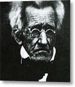 Andrew Jackson, 7th American President Metal Print by Photo Researchers