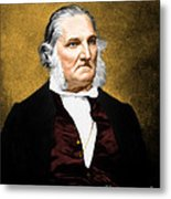John James Audubon, French-american Metal Print by Science Source