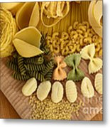 Pasta Metal Print by Photo Researchers, Inc.