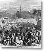 Abolition Of Slavery Metal Print by Photo Researchers