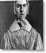Angelina Grimk�, American Abolitionist Metal Print by Photo Researchers