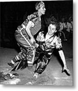 Baseball, Mary Farmer Of The Chicago Metal Print by Everett