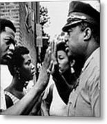 Chicago African American Policeman Metal Print by Everett