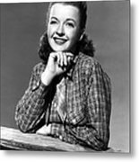 Dale Evans 1912-2001, American Actress Metal Print by Everett