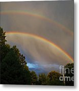 Double Rainbow Metal Print by Science Source