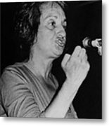 Feminist Author Betty Friedan Speaking Metal Print by Everett
