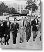 Hollywood Writers Go On Trial. Seven Metal Print by Everett