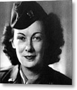 Kay Summersby Morgan Served As General Metal Print by Everett