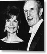 Kennedy Family. First Lady Jacqueline Metal Print by Everett