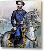 Lieutenant General Ulysses S Grant Metal Print by Photo Researchers
