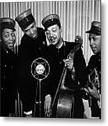Music: The Ink Spots Metal Print by Granger
