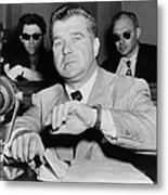 Robert Rossen, Movie Producer Metal Print by Everett