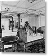 The Restaurant Reception Room Metal Print by Everett