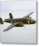 A North American B-25 Mitchell Metal Print by Scott Germain