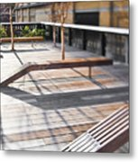 High Line Park Metal Print by Eddy Joaquim