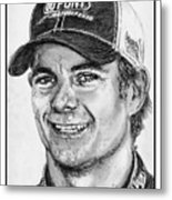Jeff Gordon In 2010 Metal Print by J McCombie