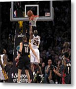 Kobe Metal Print by Marc Bittan
