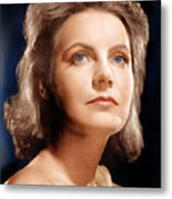 Ninotchka, Greta Garbo, Portrait Metal Print by Everett