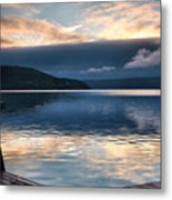 Storm Clearing Metal Print by Steven Ainsworth