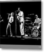 The Who Metal Print by Jonathan Fine