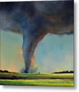 Tornado On The Move Metal Print by Toni Grote