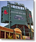 100 Years At Fenway Metal Print by Joann Vitali