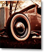 1930 Ford Model A Metal Print by Phil 'motography' Clark
