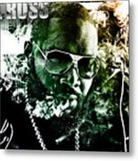 Rick Ross Metal Print by The DigArtisT