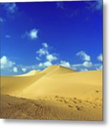 Sandy Desert Metal Print by MotHaiBaPhoto Prints