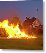 4th Of July 2010 Byc Metal Print by Charles Harden