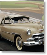 51 Chevrolet Deluxe Metal Print by Bill Dutting