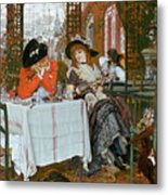 A Luncheon Metal Print by Tissot