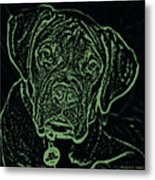 A Positive Negative Metal Print by DigiArt Diaries by Vicky B Fuller