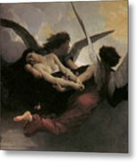 A Soul Brought To Heaven Metal Print by Adolphe William Bouguereau