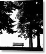 A Walk In The Park Metal Print by Artecco Fine Art Photography