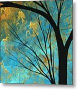 Abstract Landscape Art Passing Beauty 3 Of 5 Metal Print by Megan Duncanson