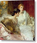 After The Ball Metal Print by Conrad Kiesel