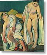After The Bath Metal Print by Marie Clementine Valadon