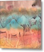 After The Race Metal Print by Beena Samuel