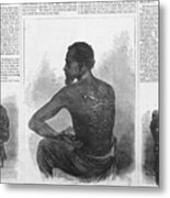 An African American Runaway Slave Named Metal Print by Everett