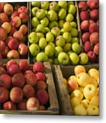 Apple Harvest Metal Print by Garry Gay