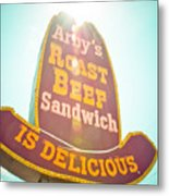 Arby's Metal Print by David Waldo