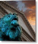 Art And Lions Metal Print by Anthony Citro