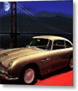 Aston Martin Db5 Metal Print by Wingsdomain Art and Photography