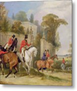 Bachelor's Hall - The Meet Metal Print by Francis Calcraft Turner