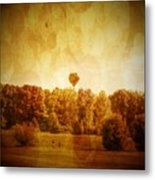 Balloon Nostalgia Metal Print by Michael Garyet