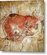 Bison From The Altamira Caves Metal Print by Prehistoric