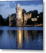 Blackrock Castle, River Lee, Near Cork Metal Print by The Irish Image Collection